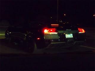 Black Murcielago at Night