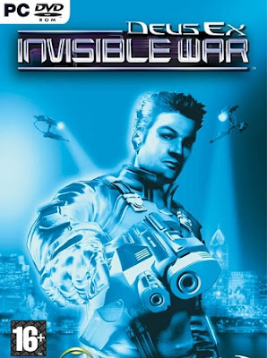 Deus Ex 2: Invisible War PC Cover