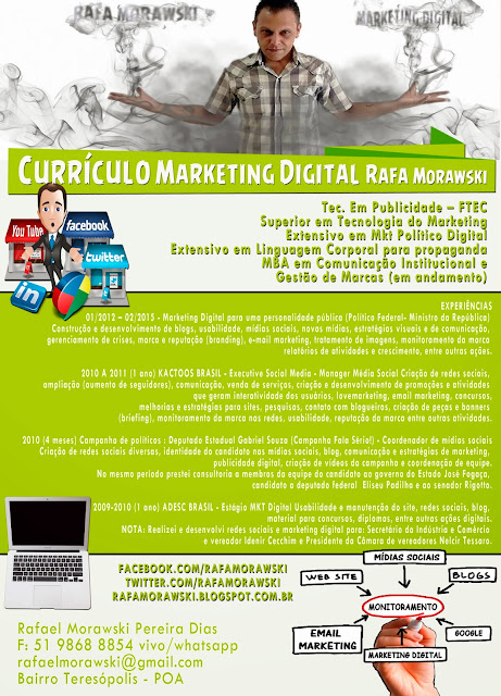 Currículo Criativo Marketing Porto Alegre