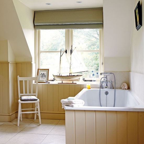 Farrow and Ball New White bathroom