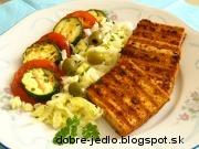 Grilované tofu v marináde - recept