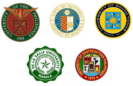 top 5  ph universities