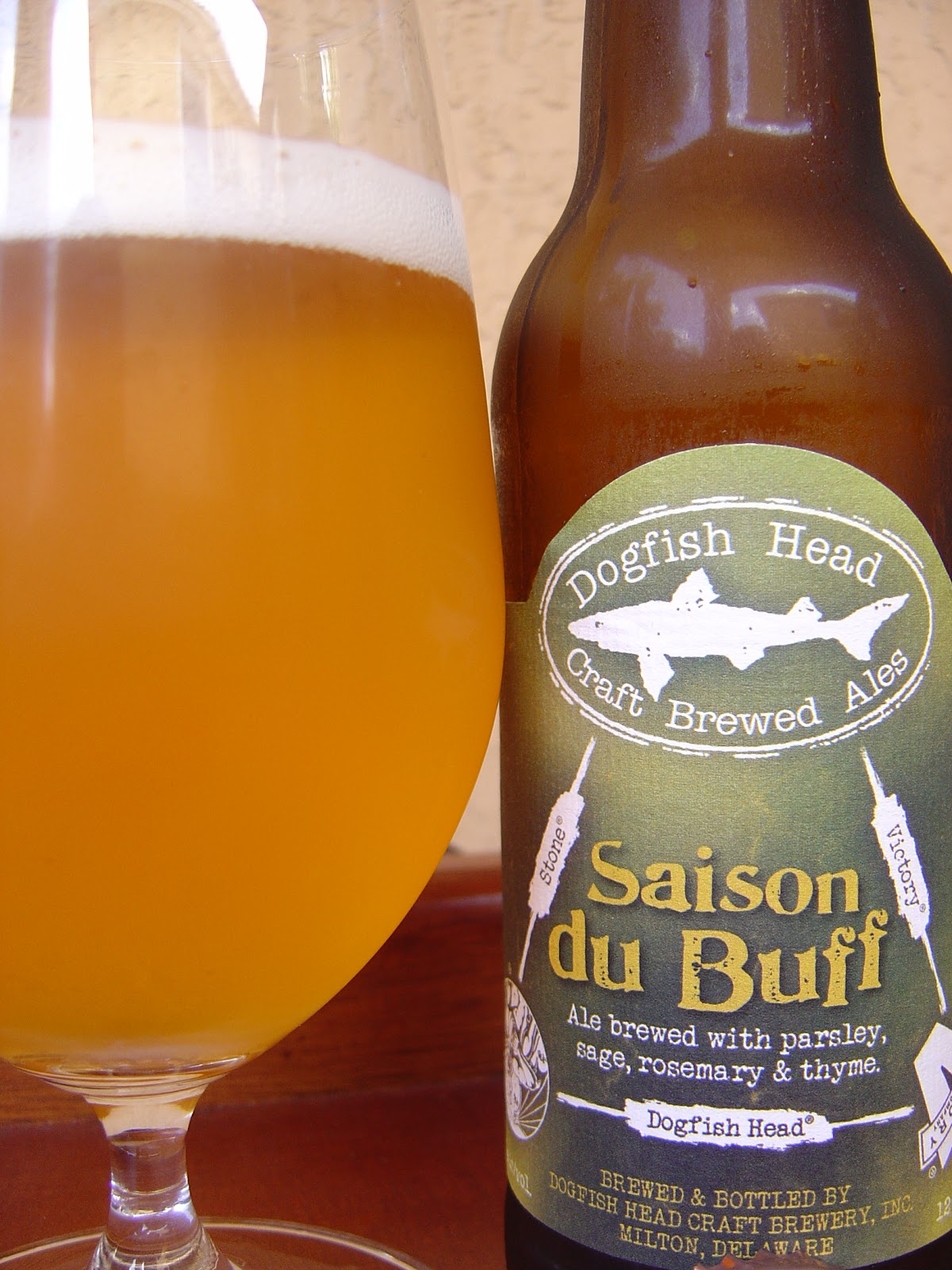 Daily Beer Review Saison Du Buff