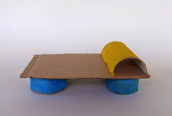 toilet paper roll furniture, paper furniture, kids crafts, toilet paper roll crafts, paper crafts,