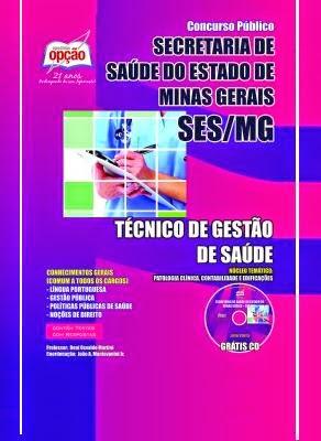 Apostila Núcleo Temático Secretaria de Estado de Saúde de Minas Gerais - SES 2014