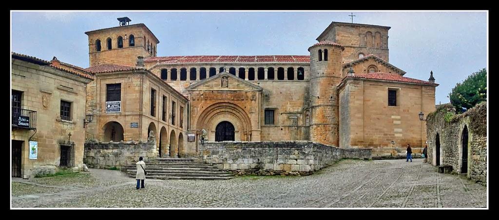 Colegiata Santillana de Mar, Cantabria.