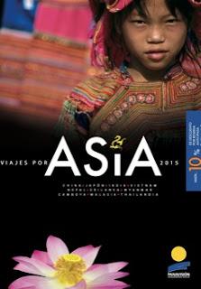 Catálogo de viajes a Asia mayorista Panavisión.