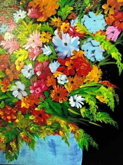 Radiance, painting by Madhavi Srivastava (part of her portfolio on Indiaart.com)