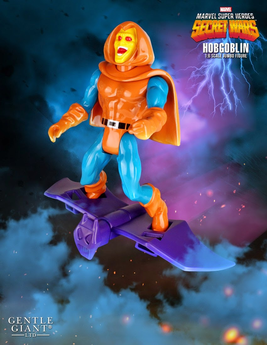 "Marvel's Secret Wars Hobgoblin 12"" Jumbo Vintage Action Figure by Gentle Giant"