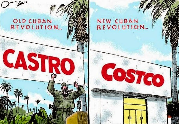 Jack Ohman: Cuba then and now.