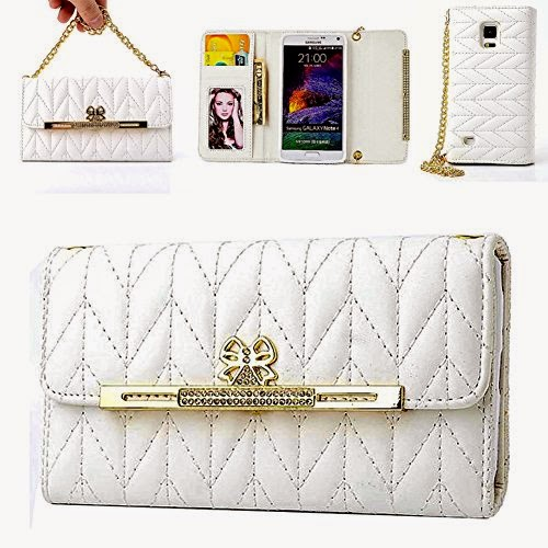 FIBEST Elegant Bag Design Wallet for Samsung Galaxy Note 4