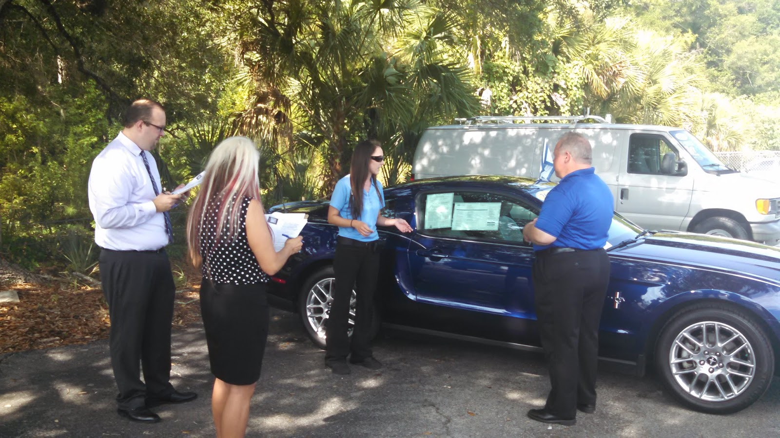 Also Present To Witness The Match Was Steve Hollosi General Manager Of Ford  Lincoln Of Ocala And Rick Brisson Orlando Regional Manager.