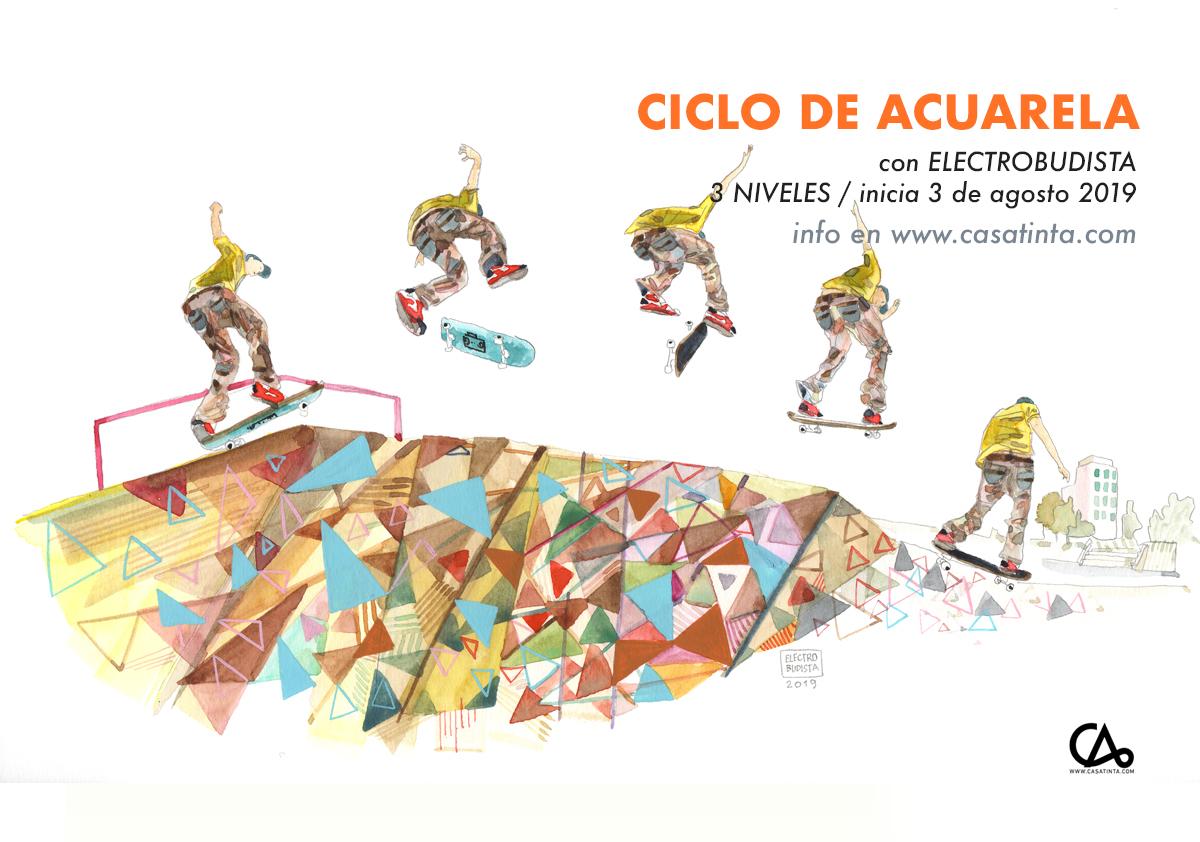 CICLO DE ACUARELA // 3 de ago