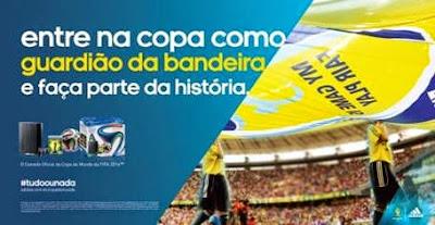 """Promoção Adidas """" Guardião da Bandeira 2014"""""""