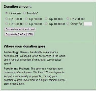 donasi untuk wikipedia; support wikipedia