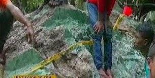 Batu giok 20 ton di aceh