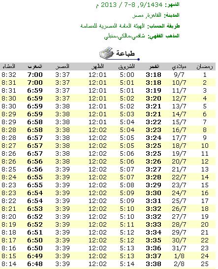 إمساكية رمضان لعام 2013 الموافق 1434 imsakia  امساكية رمضان 2013 مصر - امساكية رمضان 1434 القاهرة-رمضان 2013 مصر - امساكية رمضان 1434 القاهرة- إمساكية رمضان لعام 2013 الموافق  1434 بتوقيت مصر (القاهرة)- موعد الإفطار - موعد السحور