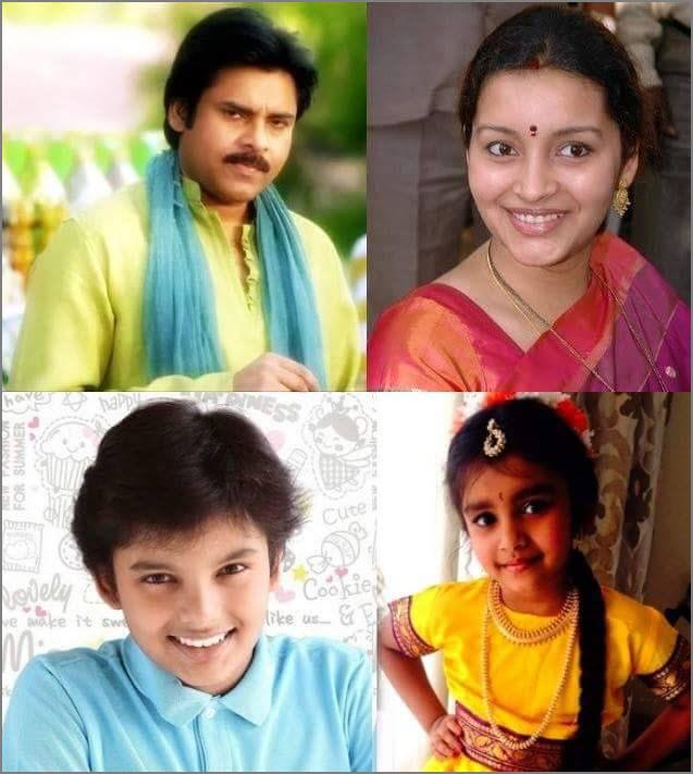 power star pawan kalyan family photos powerstar pawan kalyan