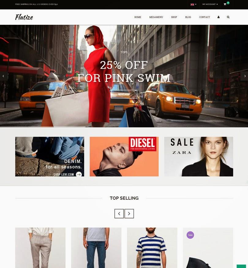 Flatize – Fashion eCommerce WordPress Theme