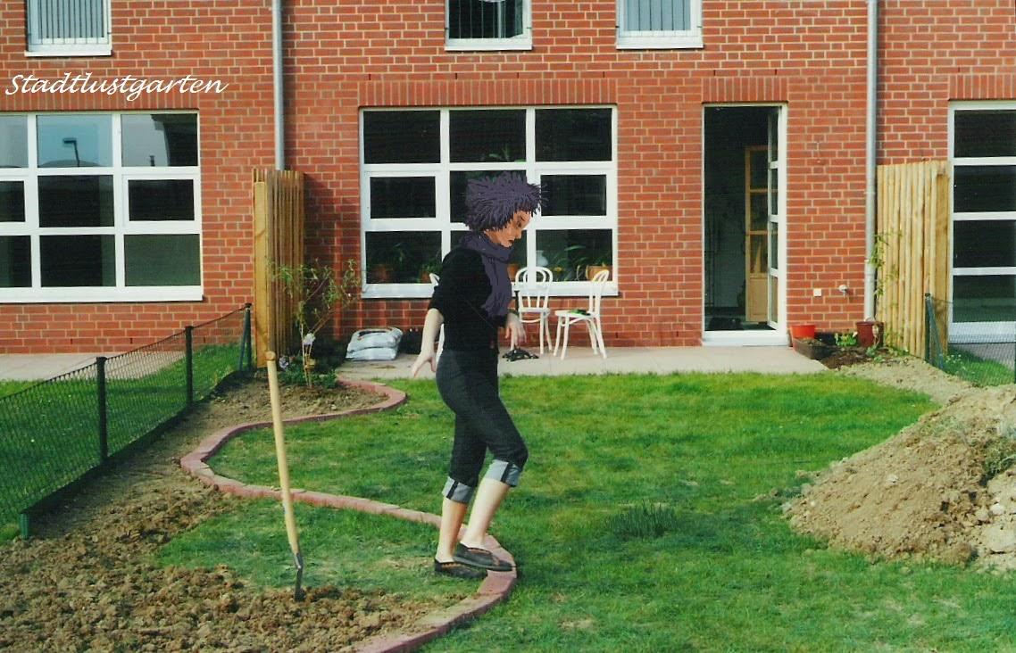 Stadtlustgarten: Teil I Ein Reihenhausgarten entsteht
