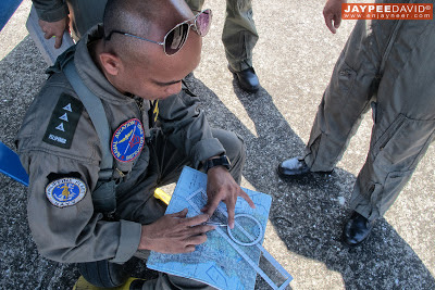 Flight Planning, Dens Resuallo, Naval Aviator Training Squadron NATS, Naval Air Group, Philippine Navy, Sangley Point Naval Air Base, Cavite, Britten-Norman Islander