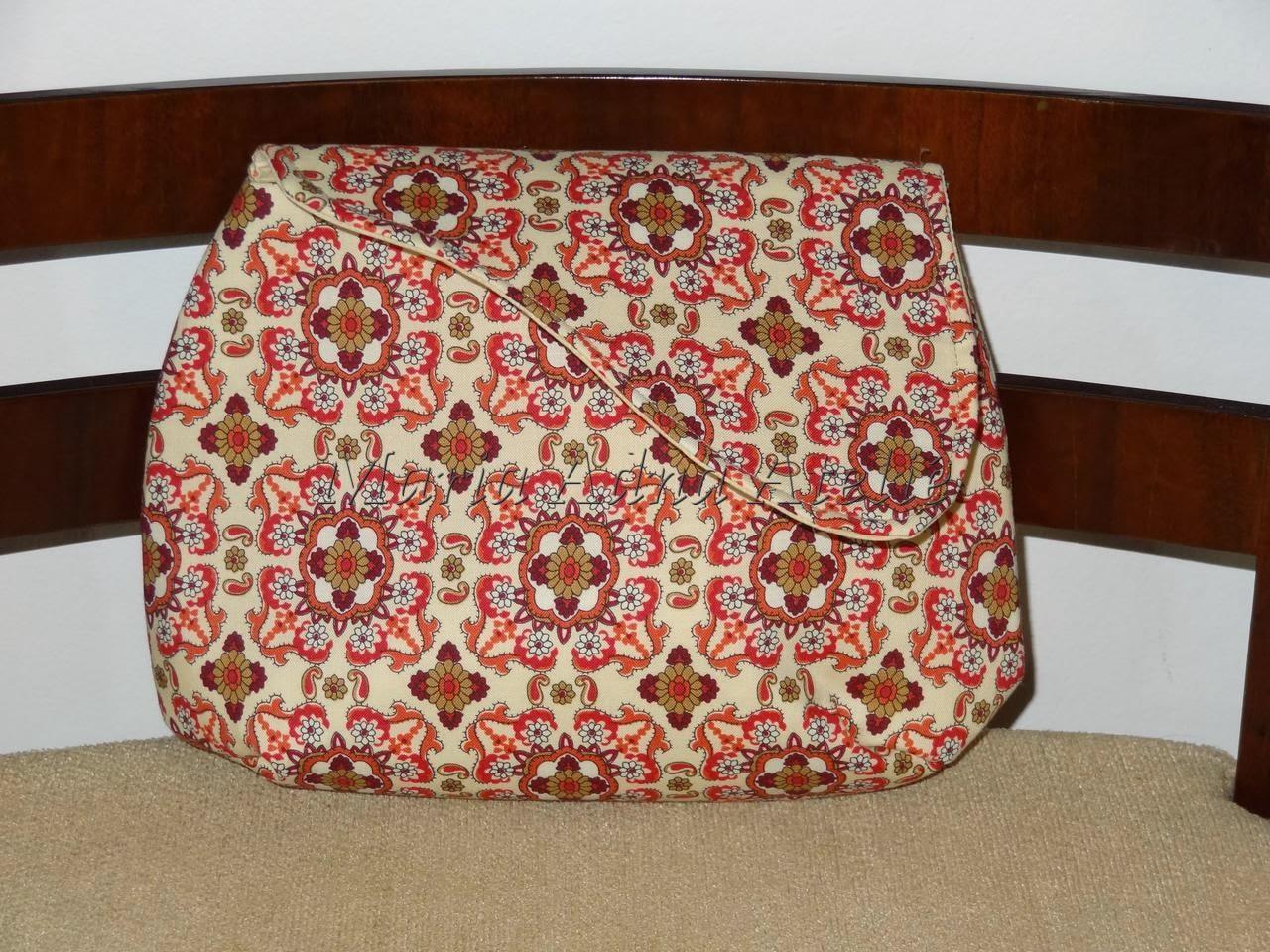 Bolsa carteira - Carteira em tecido - Bolsa em tecido - Bolsa tipo carteira em tecido