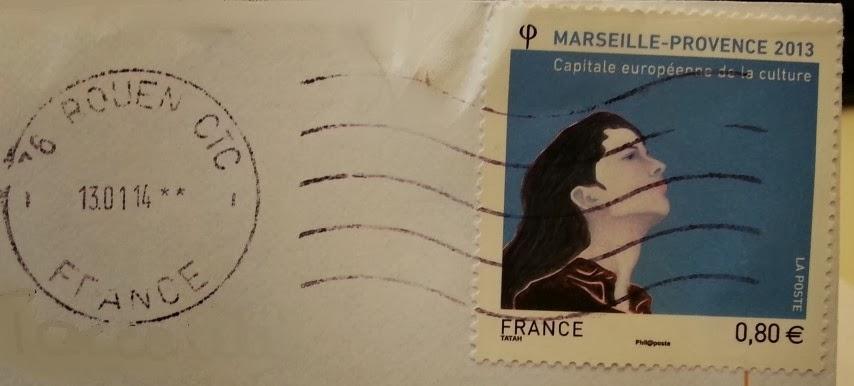 francobollo MARSEILLE - PROVENCE 2013