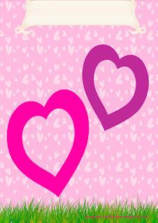 Marcos de amor para imprimir