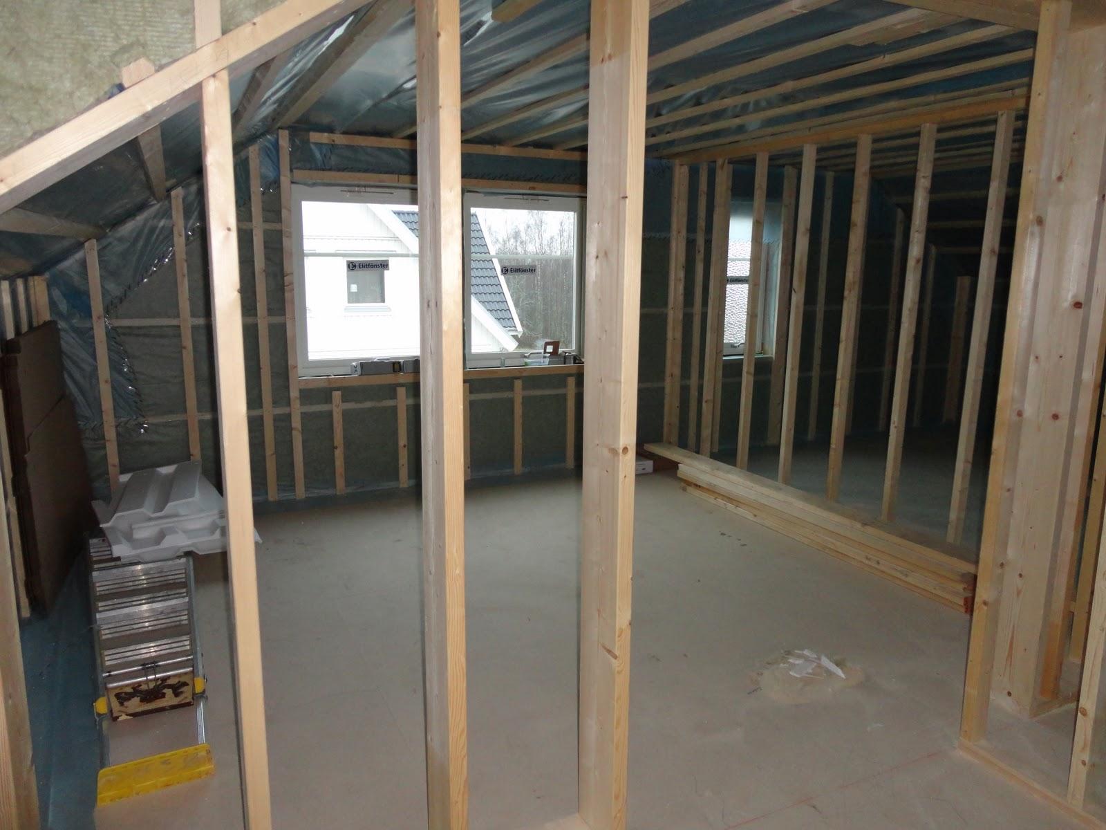 Nytt hus på Ön: november 2011