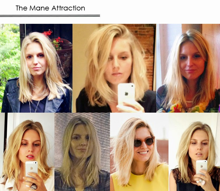 Mane Attraction blond messy hair