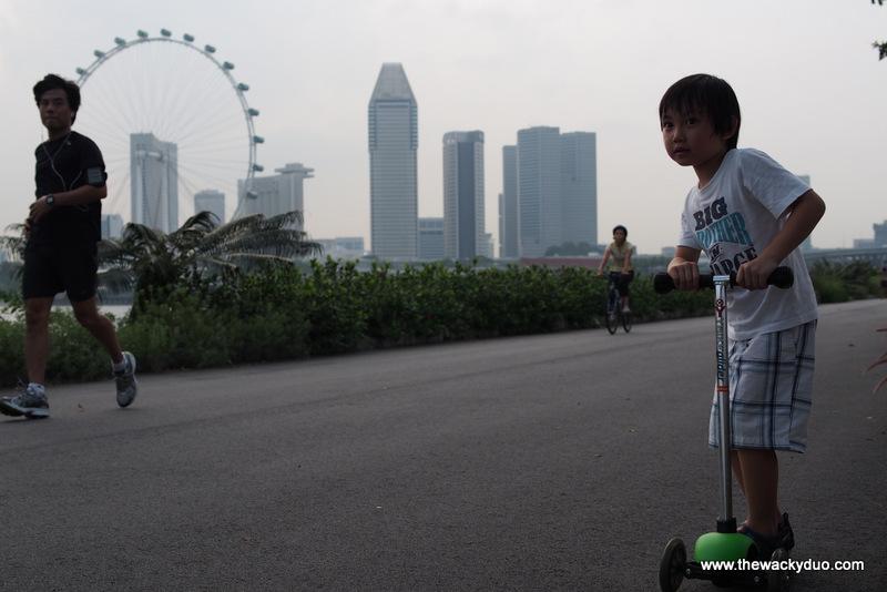 Ybike Glider@Bay East