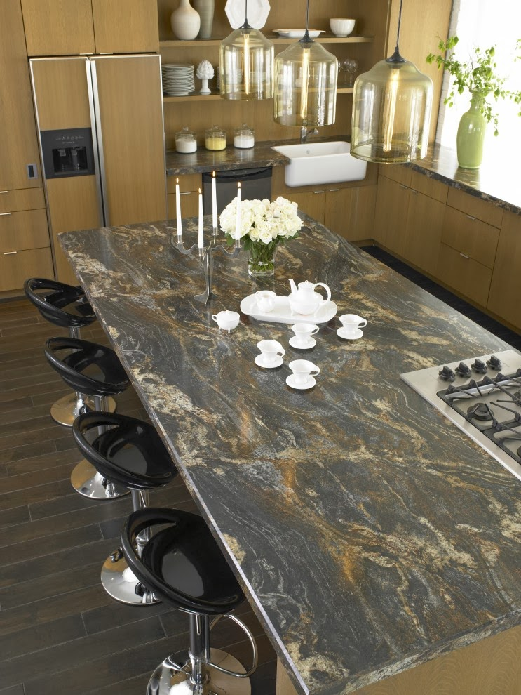 Kitchen countertop materials ideas and options