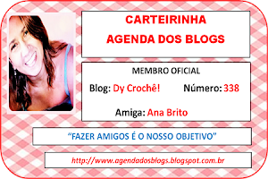 Tbm participo da Agenda dos blogs!!!