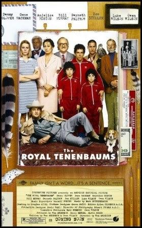 Los Tenenbaums. Una familia de genios. Póster