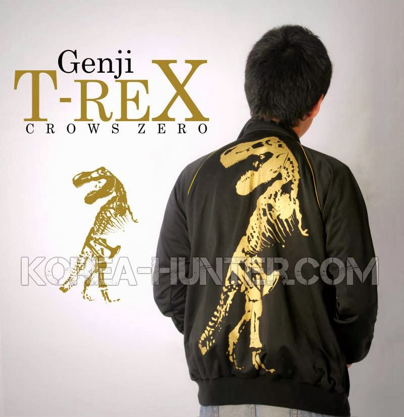 KOREA-HUNTER.com jual murah Jaket Crows Zero T-Rex | kaos crows zero tfoa | kemeja national geographic | tas denim korean style blazer