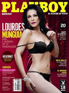 Lourdes Munguía en Revista Playboy