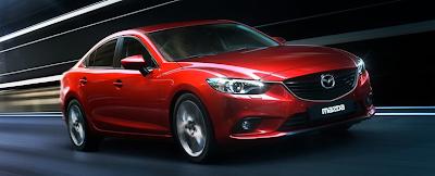 2014 Mazda 6 red