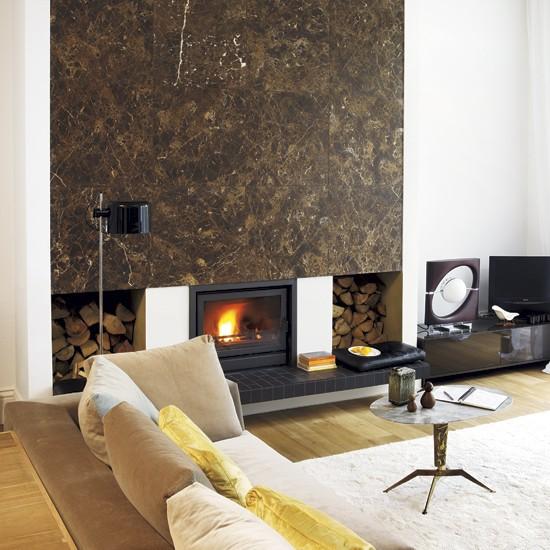 The Granite Gurus Faq Friday Full Slab Fireplace Inspiration