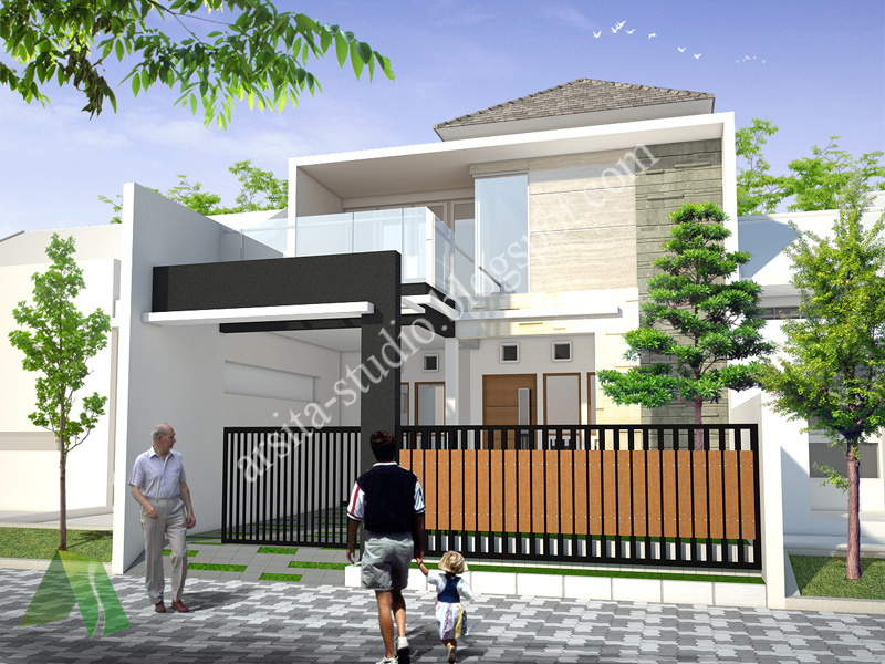 arsita studio architecture desain rumah tinggal