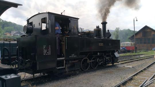 Train à vapeur autrichien
