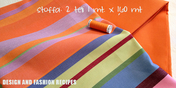 DIY: Beach bag on Design and fashion recipes by Cristina Dal Monte