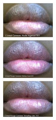 L'Oreal Rouge Caresse, lipstick