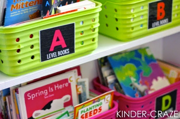 {Black Series} Classroom Library Labels display book levels