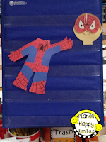 Planet Happy Smiles Super Hero Writing