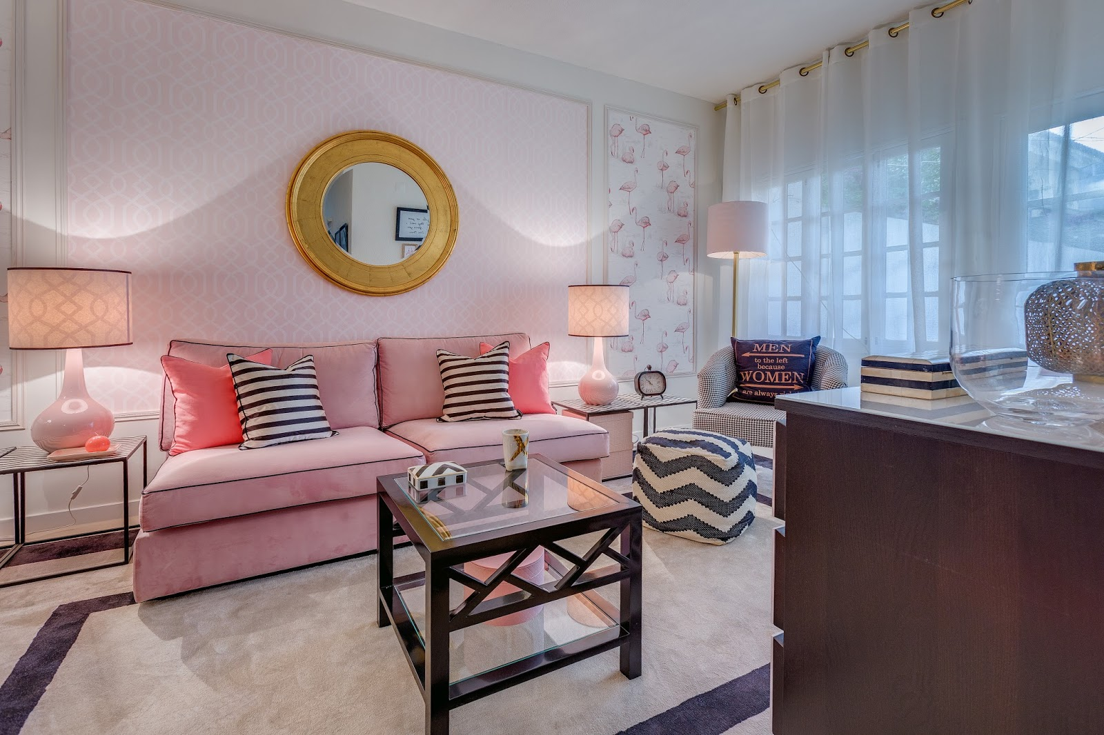 home styling ana antunes querido mudei a casa 2415 before and after tv show pink fashion. Black Bedroom Furniture Sets. Home Design Ideas