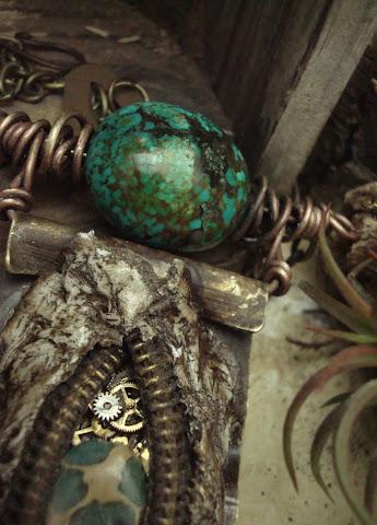 mixed media handmade jewelry