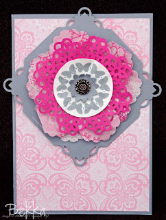 Card Featuring Flirtacious Fabric