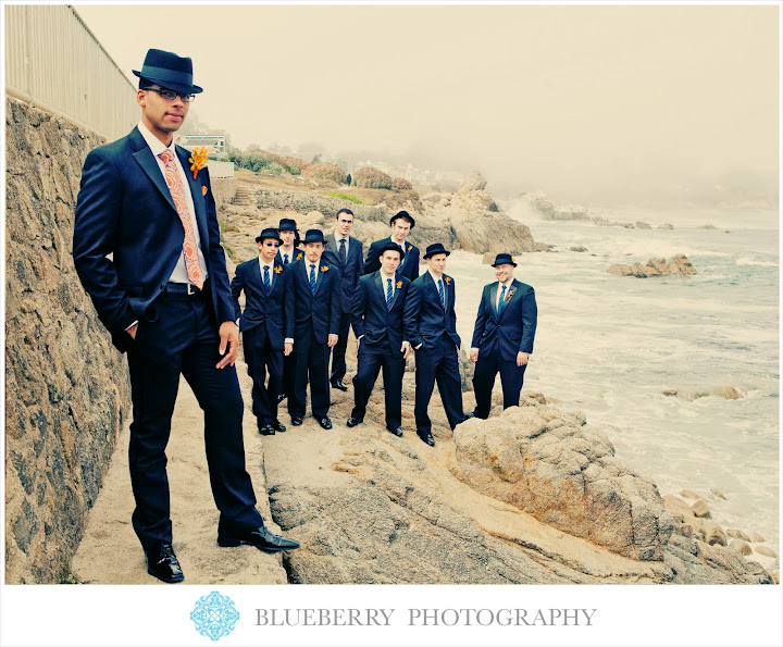 monterey bay lovers point wedding photography