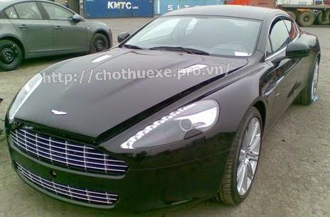 Cho thuê siêu xe Aston Martin Rapide 2