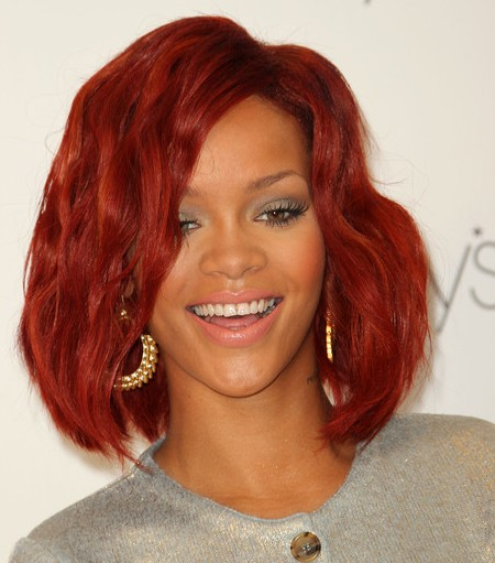 Rihanna Red Hairjpg